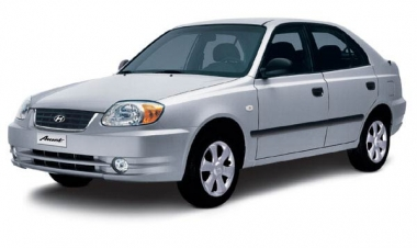 Коврики EVA Hyundai Accent 2000 - 2012