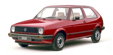 Коврики EVA Volkswagen Golf II 1983 - 1992